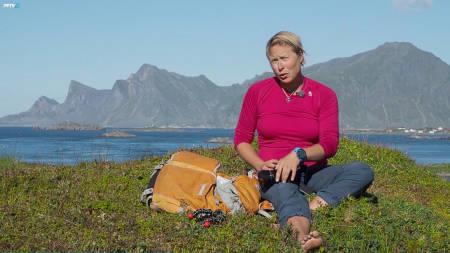 NOE MÅ BLI HJEMME: Kristin Folsland Olsen er en aktiv fotograf og må nesten alltid gjøre kompromisser.
