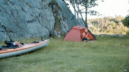 Kajakk og campingliv
