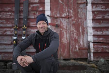 DETTE ER BÅRD: UTEs toppturekspert Bård Smestad vet å ta seg både opp og ned et fjell. Bilde: Christian Nerdrum