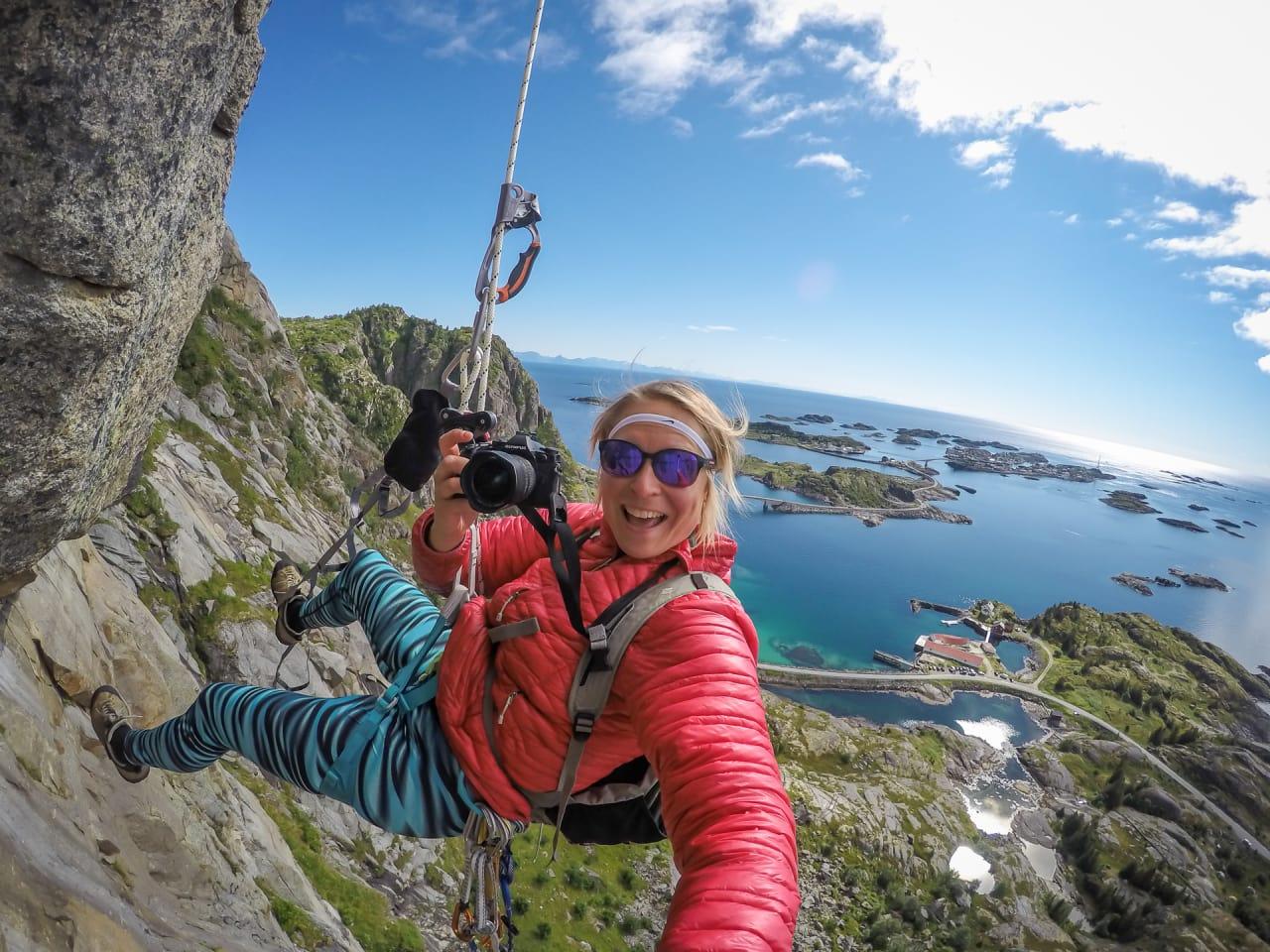 PROGRAMLEDEREN: Kristin Folsland Olsen er ikke tam, og allerede neste uke er hun å se i første innslag av Naturfotoskolen.