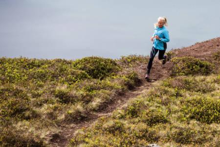I DEN GODE SONEN: Tempo og flyt henger tett sammen, mener løpeekspert Malene Haukøy. Bilde: Christian Nerdrum
