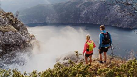 Løpetur til ett av verdens vakreste fossefall
