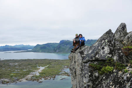 Friluftsliv: Markus og Inge Wegge er fostret opp på frisk luft. Her er webserien der Utemagasinet sine lesere og seere skal få nytte av det de har lært.