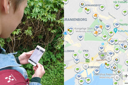 Guide geocaching Norge oslo kompass utemagasinet caching happy caching