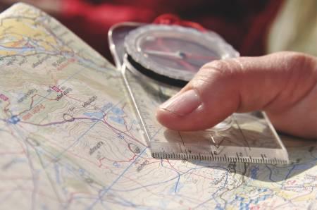 lære deg kart og kompass
