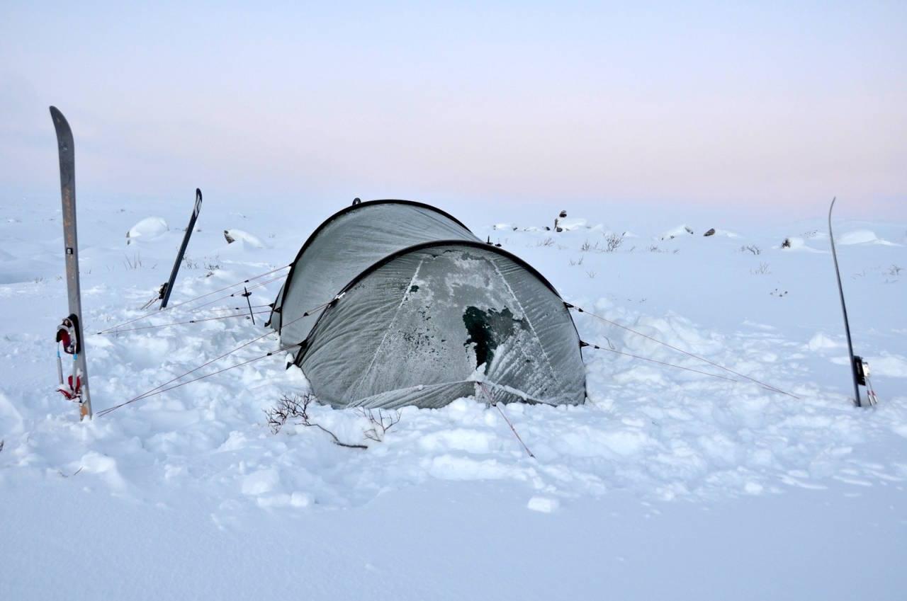 Vinterfriluftsliv vintertelttur