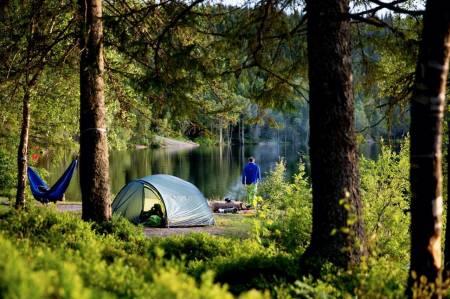 Foto teltplass marka utemagasinet