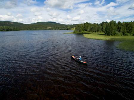 KANO: I tillegg til å være ekstremt seiglivet, besitter Matt Skuse bred kunnskap innen kano og andre former for padling. Foto: Christian Nerdrum