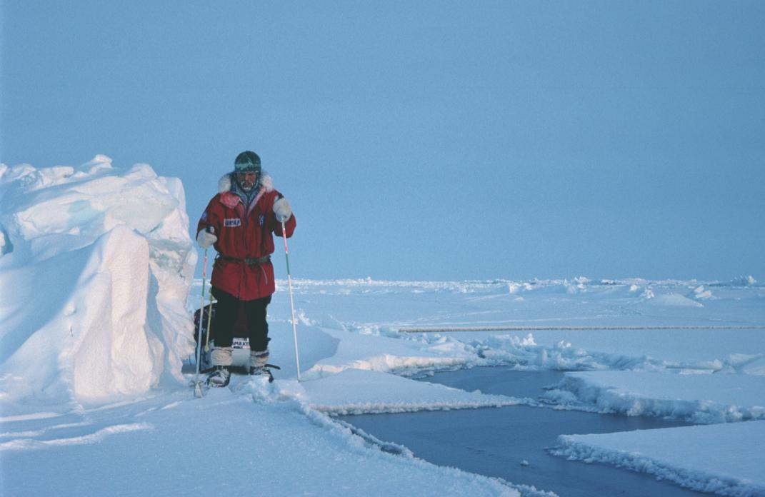 Erling Kagge var førstemann til Sydpolen alene, og har mange knep i ermet for å holde varmen. Foto: Erling Kagge