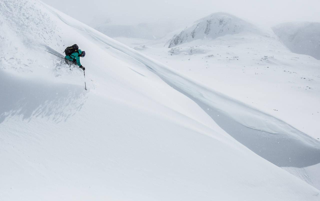 SKIVALGET: Hvis det er dette du drømmer om, trenger du et par ski. Foto: Christian Nerdrum