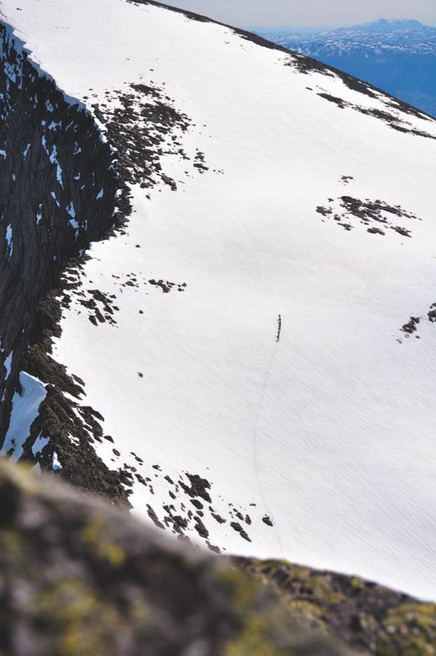 Ski og sko må fungere en hel dag ute på tur i fjellet. Foto: Sandra Lappegard