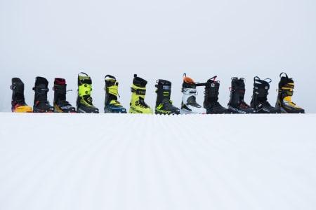 DE LETTESTE TOPPTURSTØVLENE:: Vi har prøvd hele 12 par av markedets letteste toppturstøvler. Foto: Tore Meirik