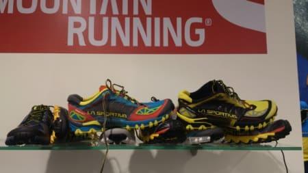 Italienske La Sportiva har en bred kolleksjon for løping i ulendt terreng.