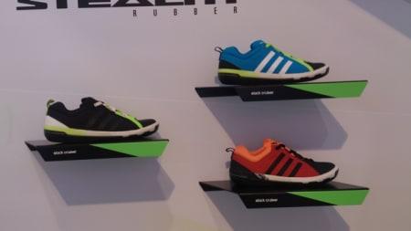 Har du ikke savnet egne sko for slakk line, sier du? Vel, Adidas har en egen serie utstyr med Stealth-gummi fra Five Ten.