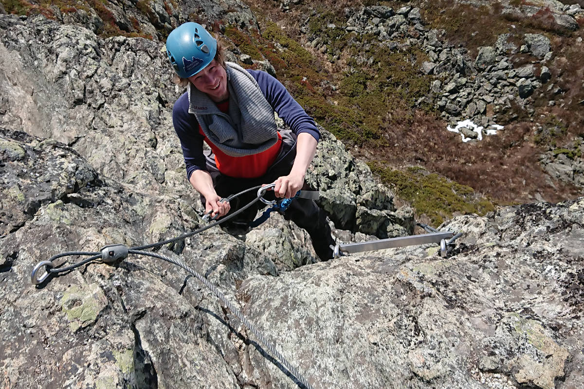 via ferrata hemsedal guide norge utemagasinet loen via åndalsnes