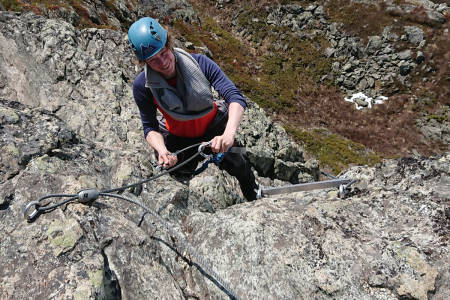 how to via ferrata